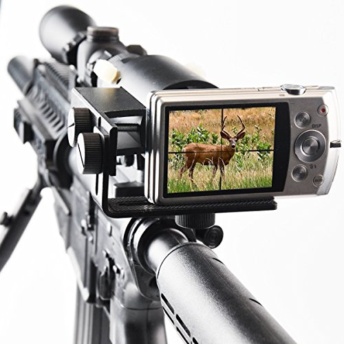 Oscilloscope With Camera Mount : Gosky scope cam adapter camera mount for rifle