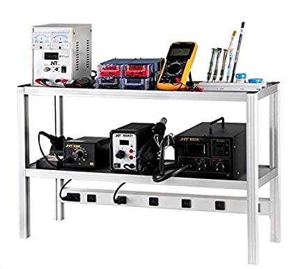 SATKIT Banco trabajo para mesa herramientas electronica
