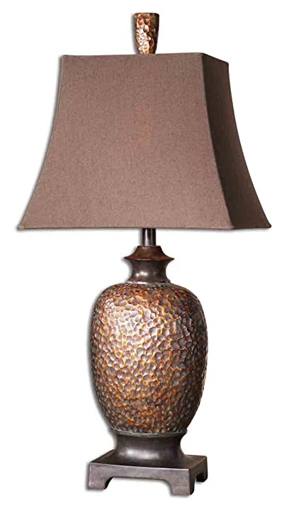 Boutique hammered copper bronze table lamp amazon boutique hammered copper bronze table lamp mozeypictures Images