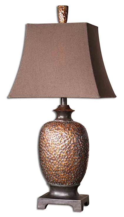 Boutique hammered copper bronze table lamp amazon boutique hammered copper bronze table lamp mozeypictures Image collections
