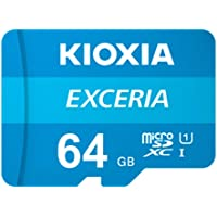 Kioxia 16 GB / 32 GB / 64 GB / 128 GB / 256 GB microSD Exceria Flash cartão de memória U1 R100 C10 Full HD Alta…
