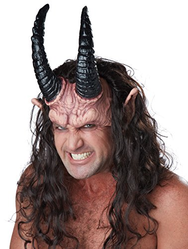 California Costumes Men's Devious Demon, Dark Brown/Flesh, One Size ()