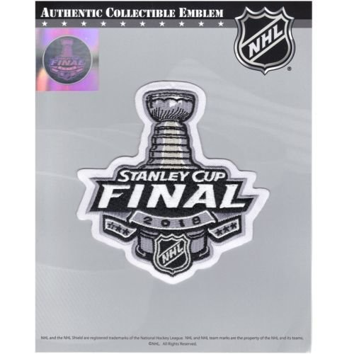 The Hockey Company 2018 STANLEY CUP FINAL JERSEY PATCH KNIGHTS PREDATORS LEAFS LIGHTNING PENGUINS ()