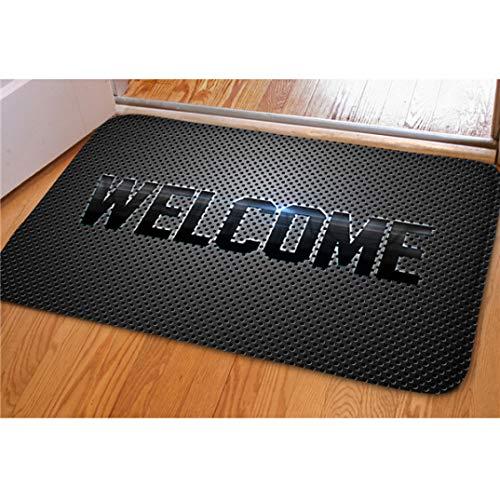 Home Decorative Front Extrance Doormat Welcome Hello Outdoor Indoor Floor Door Carpets Kitchen Bathroom Area Rugs