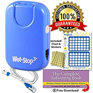 Amazon.com: Wet-Stop3 Bedwetting Enuresis Alarma con ...