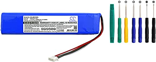 Cameron Sino 5000mAh Li-Polymer Battery for JBL Xtreme Portable Wireless Bluetooth Speaker Replacement Battery with Tools