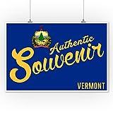 Visited Vermont - Authentic Souvenir