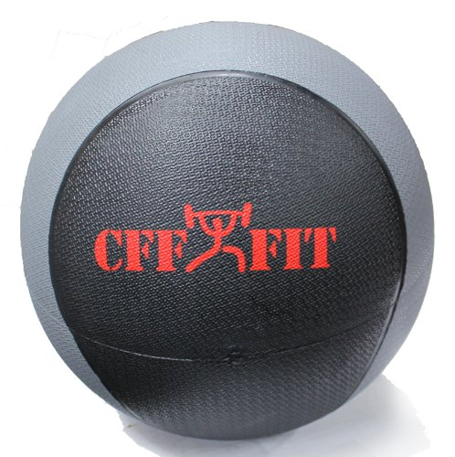 CFF Deluxe Rubber Medicine Ball, 15-Pound