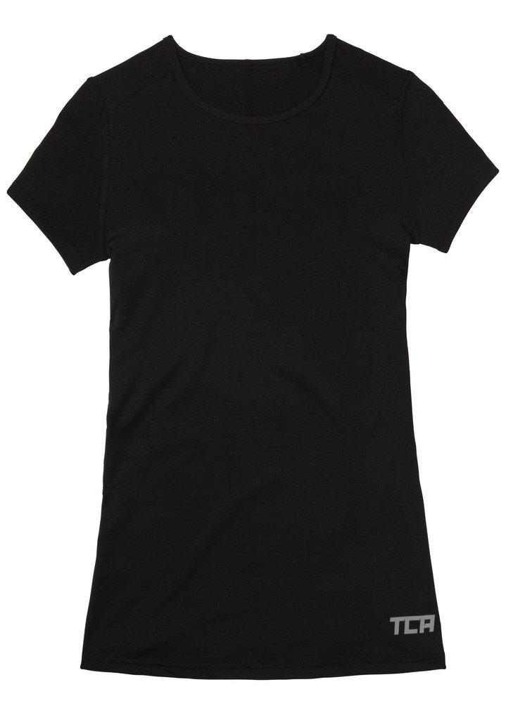 TCA super thermal - de mujer de manga corta-camiseta/ropa interior de running: Amazon.es: Deportes y aire libre