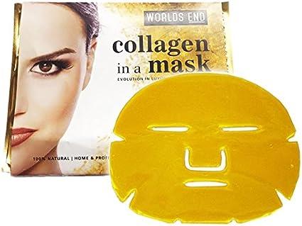 5 x Premium Gold Bio Collagen Crystal Face Mask, Anti ageing Skin Care: Amazon.es: Belleza