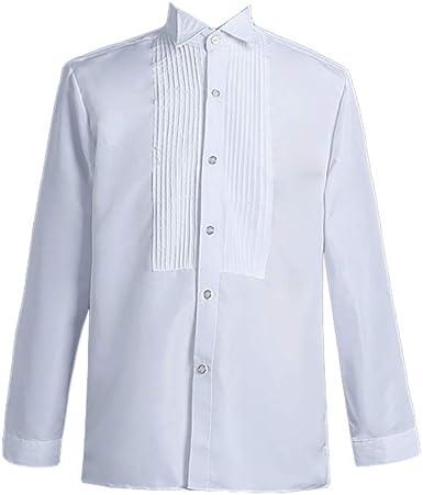 COUCOU Age Camisa Gótica Steampunk para Hombre Top Disfraz de Pirata Blusa Collar: Amazon.es: Ropa y accesorios