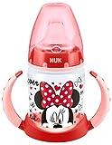 NUK 10215062 - First Choice Trinklernflasche Disney Minnie und Mickey Motiv 150 ml aus PP,  mit...