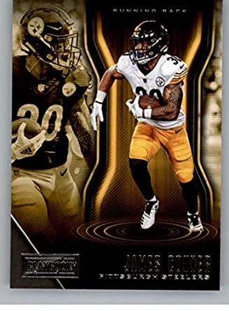 2c8b2bf0851 2018 Playbook Football  100 James Conner Pittsburgh Steelers Official NFL  Card Produced by Panini