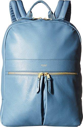 Knomo Mayfair Luxe Beaux Laptop-Rucksack 14? blaugrau