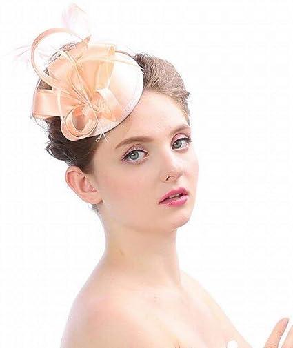 Sombrero - señoras tiara de otoño e invierno tocados hechos a mano de Europa  y América 639530e7930