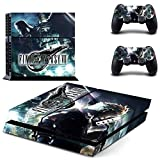 Playstation 4 Skin Set - FANTASY - HD Printing Vinyl Skin Cover Protective for PS4 Console and 2 PS4 Controller by Oidoioi