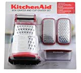 KitchenAid Box Grater and Cup Grater Set - Red