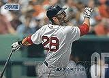 2018 Topps Stadium Club Baseball #96 J.D. Martinez Boston Red Sox MLB Trading Card