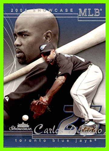(2005 Fleer Showcase #13 Carlos Delgado toronto blue jays (80e))