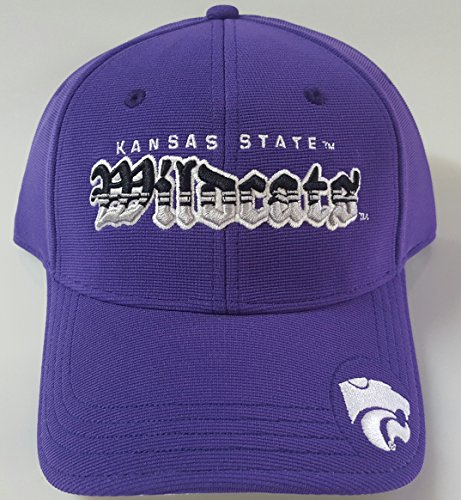 NCAA New Kansas State Wildcats Embroidered Adjustable Back Cap by NCAA