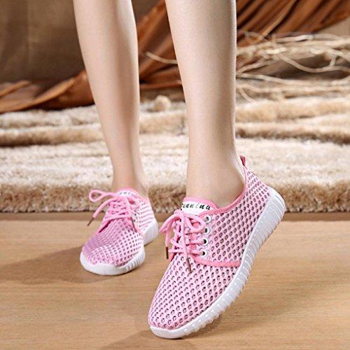 Traspirante da Camminare Ginnastica Luo Casual Donna Scarpe B Beauty Estive Corsa Sneaker Scarpe Scarpe da Donna Zeppa Leggero Sneaker comode da Scarpe e per Donna Donna 6WSRWxvqzw