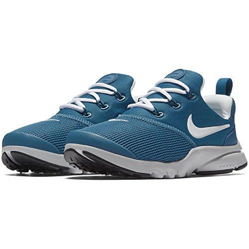 new concept ca8a8 da5d0 Nike Boys Presto Fly (PS) Shoe Green Abyss White-Pure Platinum-