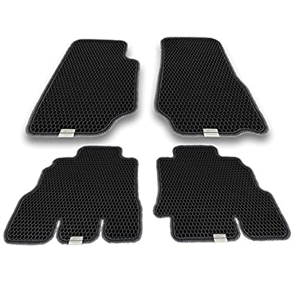Motliner Floor Mats, Custom Fit With Dual Layered Honeycomb Design For Jeep  Wrangler Unlimited 2014