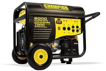 41532R- 7000 9000w Champion Generator, remote start Renewed