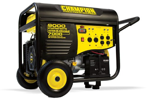 41532R- 7000 9000w Champion Generator, remote start Renewed