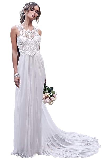 Halter Wedding Dress For Bride White Lace Sequins Long Train