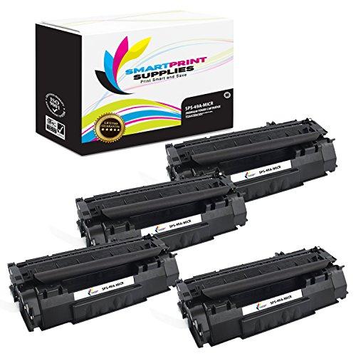 Smart Print Supplies Compatible 49A Q5949A MICR Black Toner Cartridge Replacement for HP Laserjet 1160 1320 Printers (2,500 Pages) - 4 ()