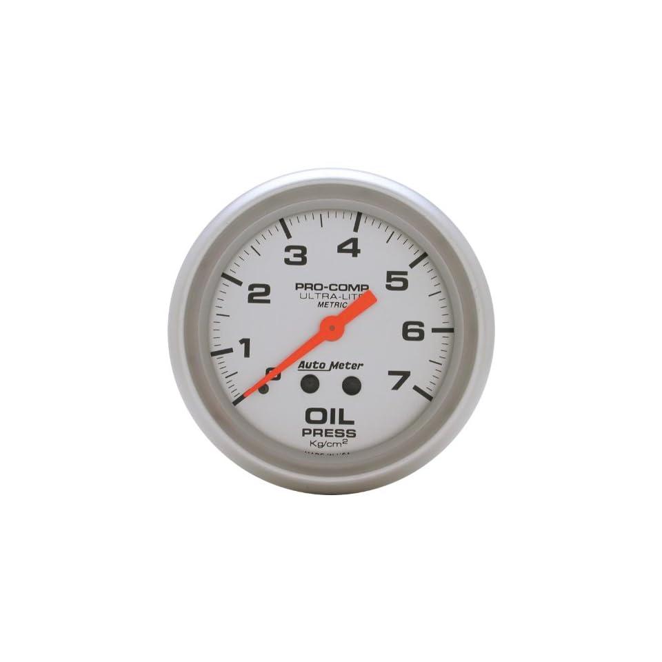 Auto Meter 4421 J 2 5/8 Mechanical Oil Pressure Gauge