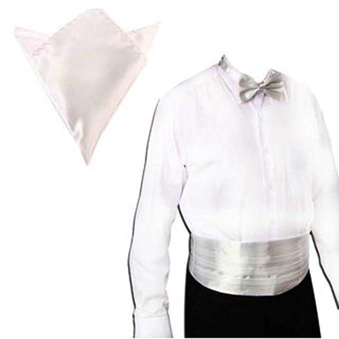 F Fityle Corbata de Lazo Faja Banda Pañuelo Hombres Suave ...
