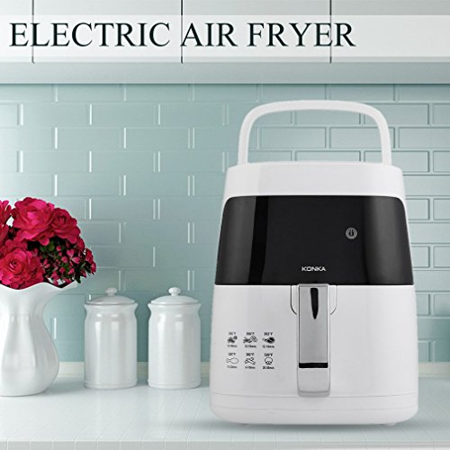 Homgrace Air Fryer, 2.5L Smokeless Electric Air Fryer Non-stick Fryer French Fries Machine 220V by Homgrace (Image #2)