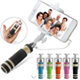 Unifree Selfie Stick-mini with Aux cable (assorted Colors)