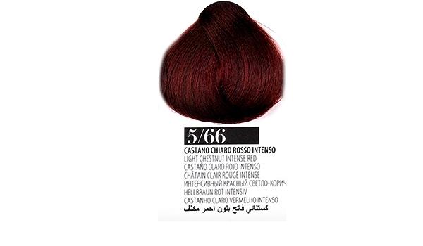 Tinte Cabello 5/66 Castaño Claro Rojo Intenso farmagan Hair ...
