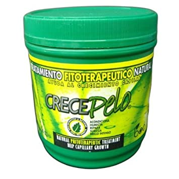 Crecepelo Tratamiento Fitoterapeutico Natural(Phitoterapeutic Treatment) 16oz