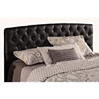 Hillsdale Hawthorne Collection Headboard, Queen, Black Faux Leather