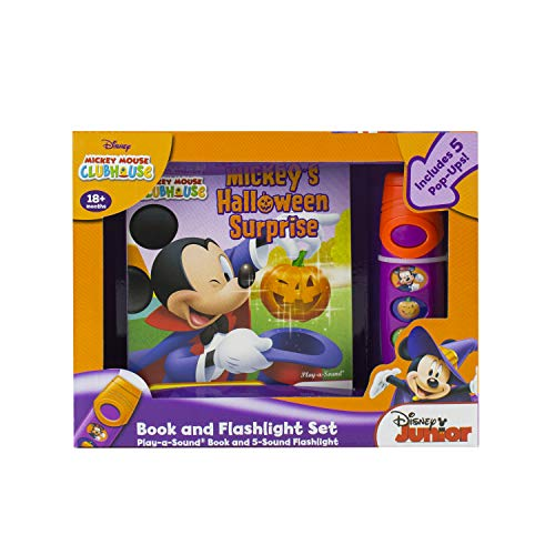 Mickey Mouse Clubhouse: Mickey's Halloween Surprise: Book and Flashlight Set]()