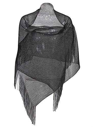 Vijiv Women's Faux Fur Collar Shawl Wraps Shrug For 1920s Bridal Wedding Evening Dresses 57