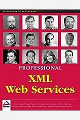Professional XML Web Services Paperback