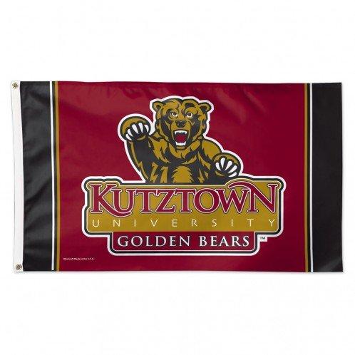 WinCraft NCAA Kutztown University Deluxe Flag, 3' x 5'