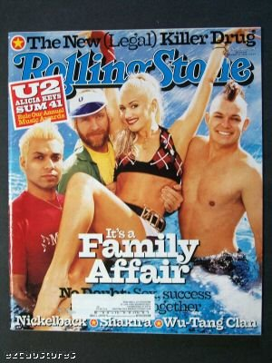 NO DOUBT ISSUE #888 ROLLING STONE MAGAZINE--JANUARY 31ST, 2002 ebook