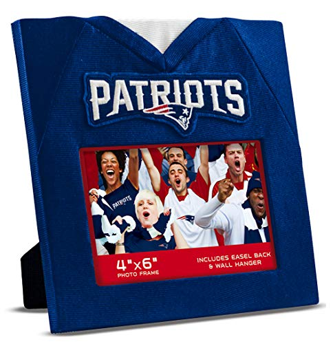 New England Patriots Football Rug - MasterPieces NFL New England Patriots Uniform Photo Picture Frame
