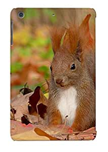 Crooningrose High Quality Shock Absorbing Case For Ipad Mini/mini 2-Animal Squirrel