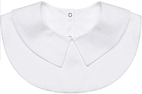 Cuello Falso para Camisa Collares Desmontables Camisa sólida ...