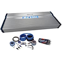 Hifonics BXX4000.1D 4000 Watt RMS Mono Car Amplifier Class D+Amp Kit+Capacitor