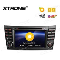 XTRONS 7 Android 8.0 Octa Core 4G RAM 32G ROM HD Digital Multi-touch Screen DVR Car Stereo DVD Player Tire Pressure Monitoring Wifi OBD2 for Benz E-W211