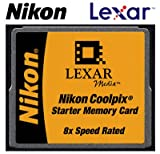 Nikon Lexar Media 16MB 8x CompactFlash (CF) Memory Card