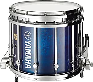 yamaha 9300 series sfz marching snare drum 14 x 12 in blue forest with chrome. Black Bedroom Furniture Sets. Home Design Ideas